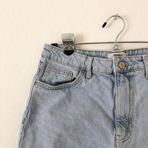Forever 21 Shorts - Forever 21 Cut Off High Rise Denim Shorts